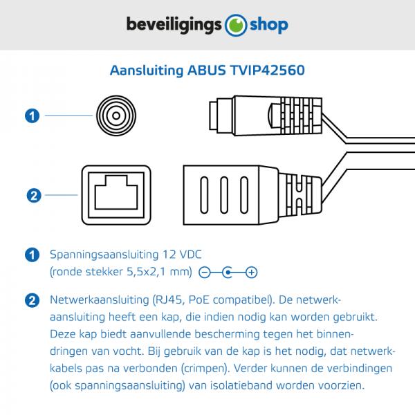 Aansluitingen-ABUS-TVIP42560