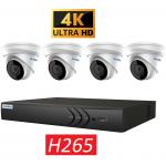 HYU-755 4 kanaals NVR met 4 1080p camera's