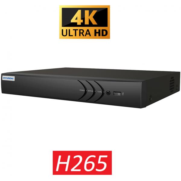 HYU-755 4 kanaals NVR