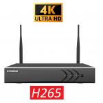 HYU-707 4 kanaals WiFi NVR