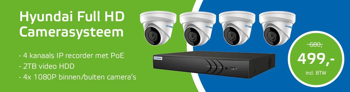 IP-camerasysteem Full HD